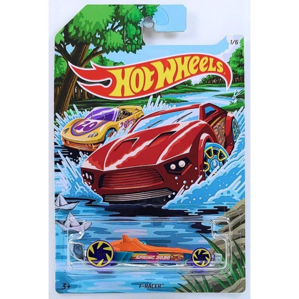 Obrázek 1 produktu Hot Wheels Easter Spring F-RACER, Mattel GJV76