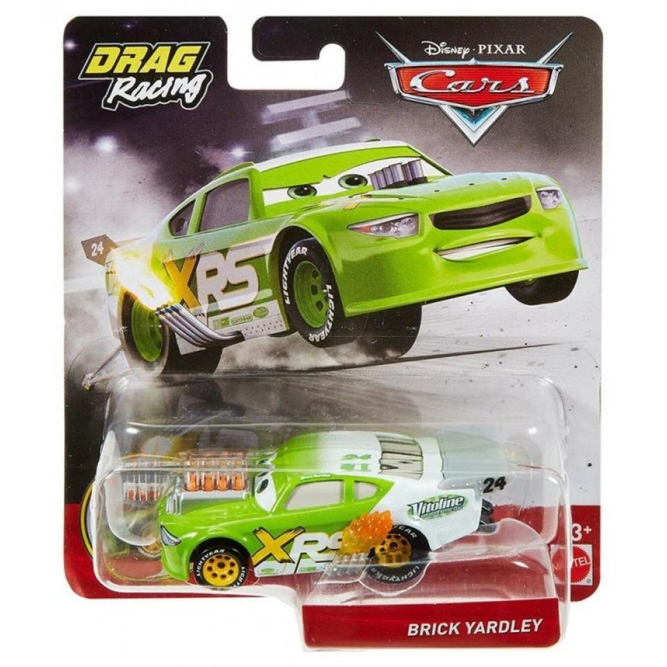 Obrázek 1 produktu Cars 3 Autíčko Drag Xtreme Racing BRICK YARDLEY, Mattel GFV40