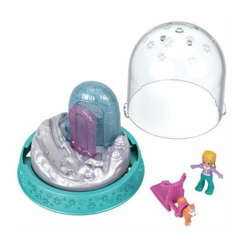 Obrázek 1 produktu Polly Pocket Sněhová koule tyrkysová, Mattel GNG70