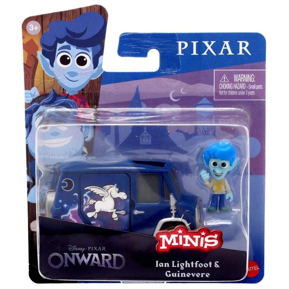Obrázek 2 produktu PIXAR Frčíme Ian Lightfoot & Guinevere, Mattel GMM76