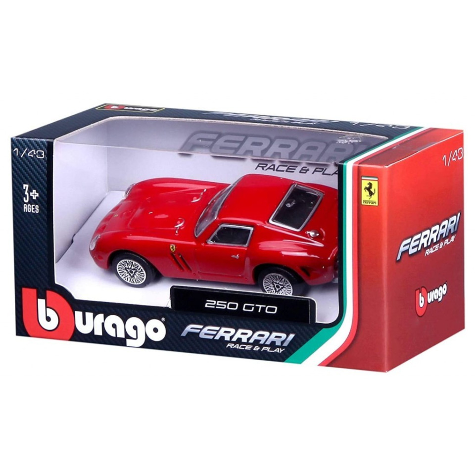 Obrázek 1 produktu Bburago FERRARI Race&Play 250 GTO 1:43
