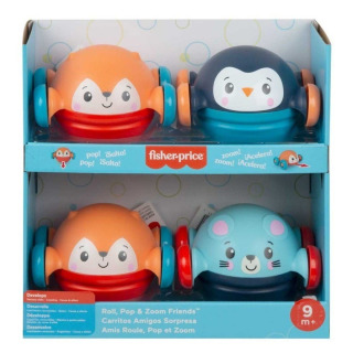 Obrázek 3 produktu Fisher Price Jezdící a kutálející se zvířátko Myška, Mattel GVL63