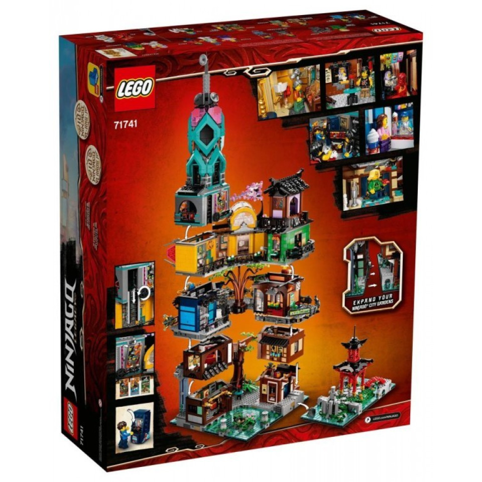 Obrázek 2 produktu LEGO Ninjago 71741 Zahrady v NINJAGO® City