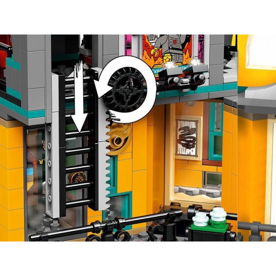 Obrázek 4 produktu LEGO Ninjago 71741 Zahrady v NINJAGO® City
