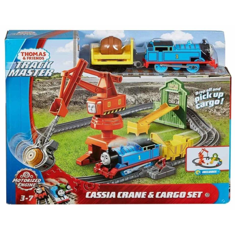 Obrázek 1 produktu Fisher Price Tomášek a přátelé Jeřáb Cassia, Mattel GHK83