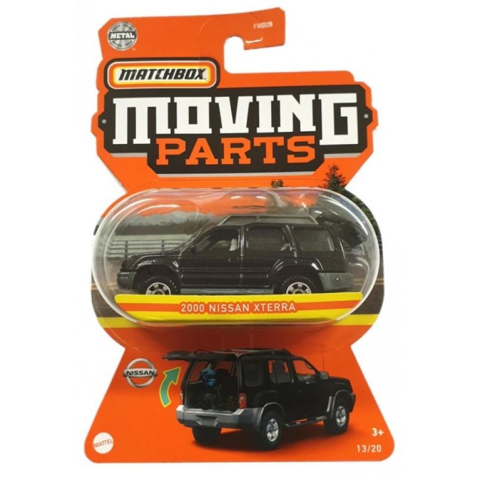 Obrázek 1 produktu Matchbox Moving Parts 2000 Nissan Xterra, Mattel GWB53
