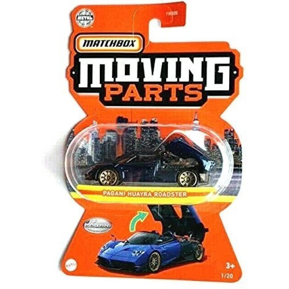Obrázek 2 produktu Matchbox Moving Parts Pagani Huayra Roadster, Mattel GWB40