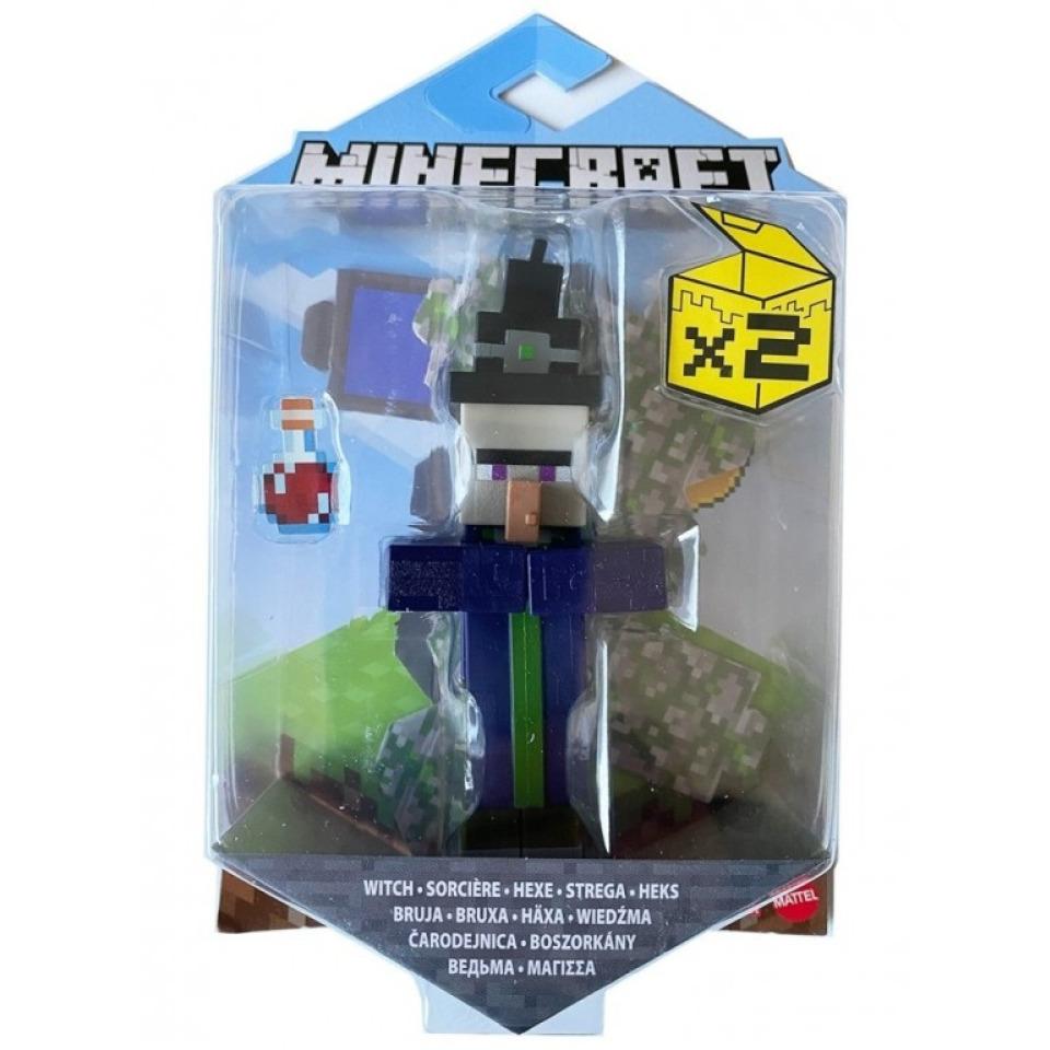 Obrázek 1 produktu Minecraft Figurka 8cm WITCH, Mattel GTP10