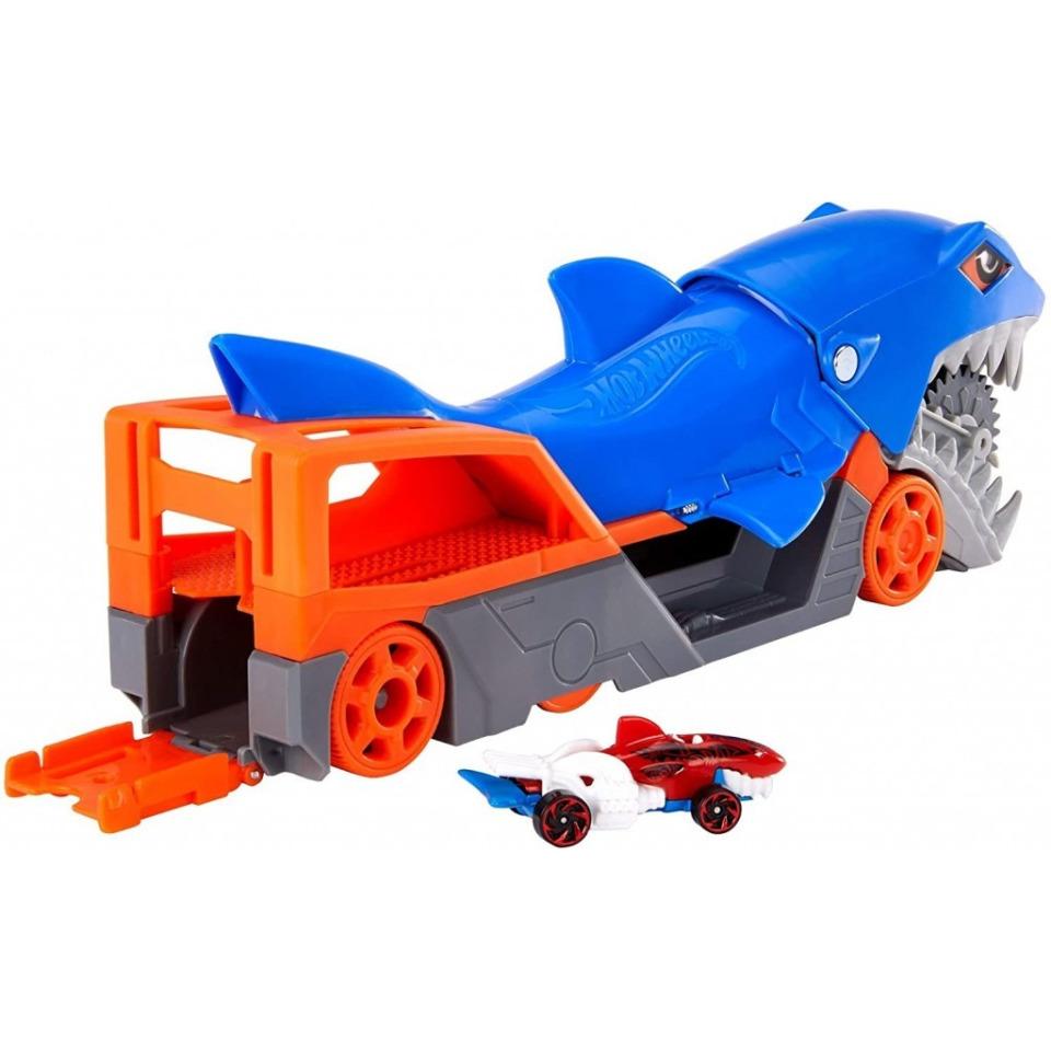 Obrázek 1 produktu Hot Wheels Náklaďák Žralok, Mattel GVG36
