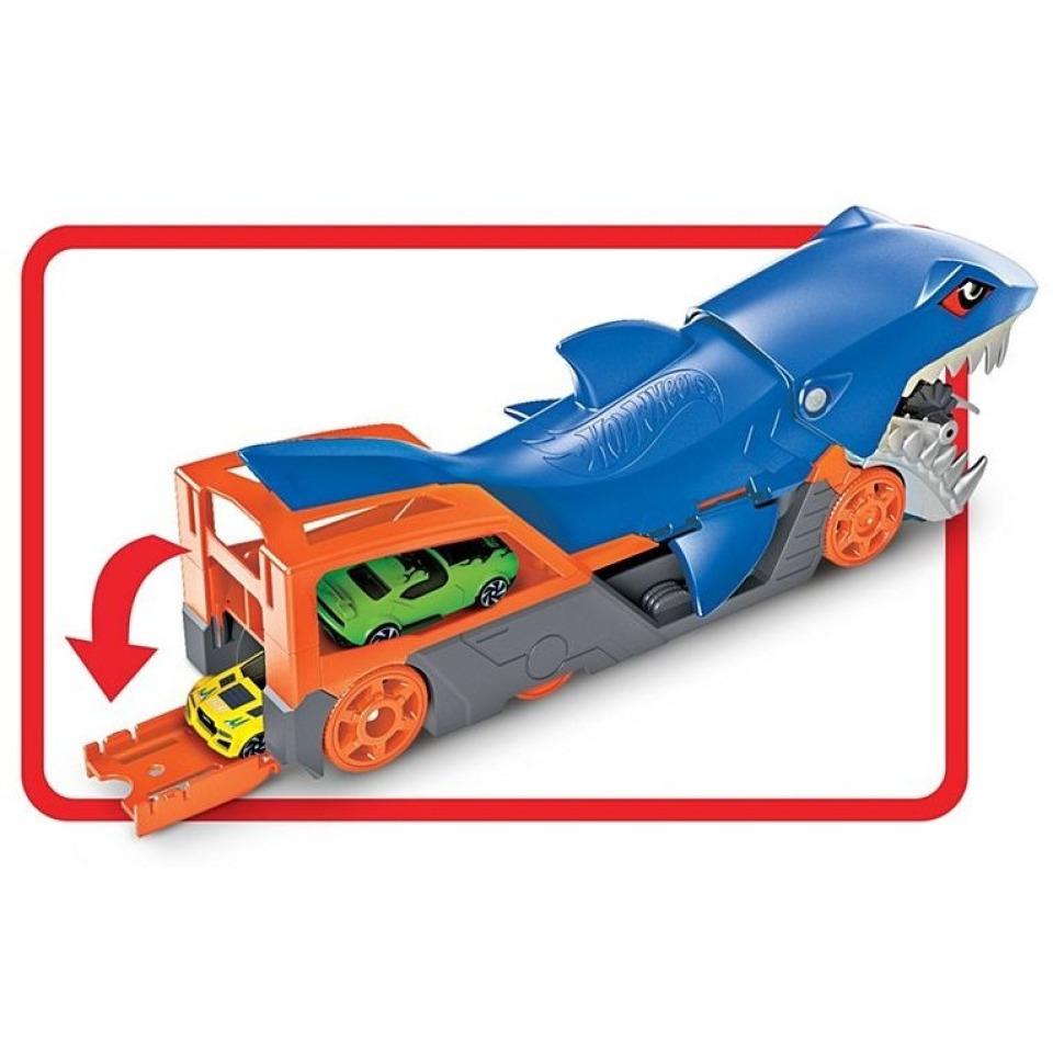 Obrázek 2 produktu Hot Wheels Náklaďák Žralok, Mattel GVG36