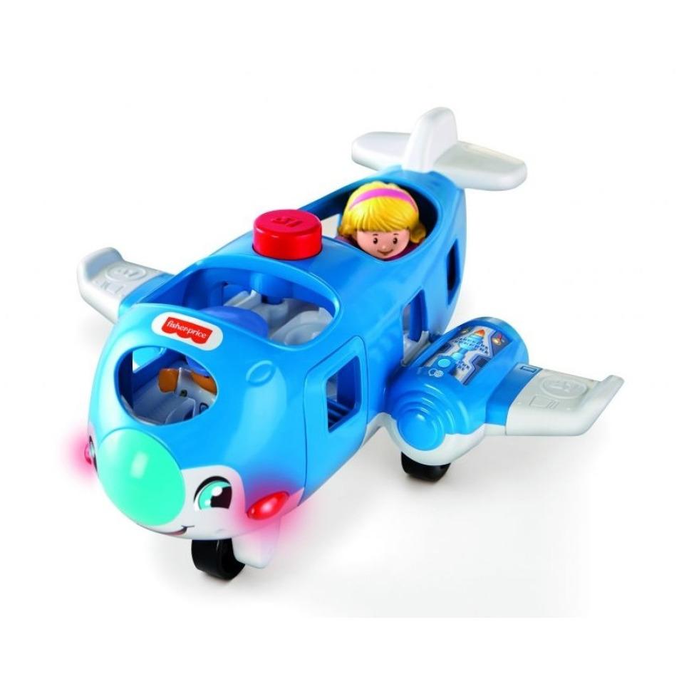 Obrázek 1 produktu Fisher Price Little People Letadlo CZ, Mattel GXR92