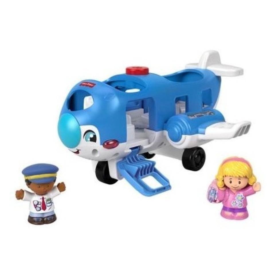 Obrázek 2 produktu Fisher Price Little People Letadlo CZ, Mattel GXR92