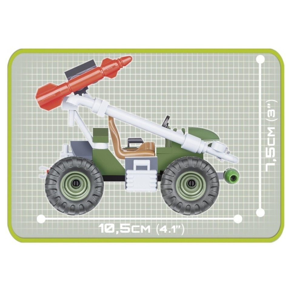 Obrázek 2 produktu Cobi 2156 Small Army Podpůrné raketové vozidlo