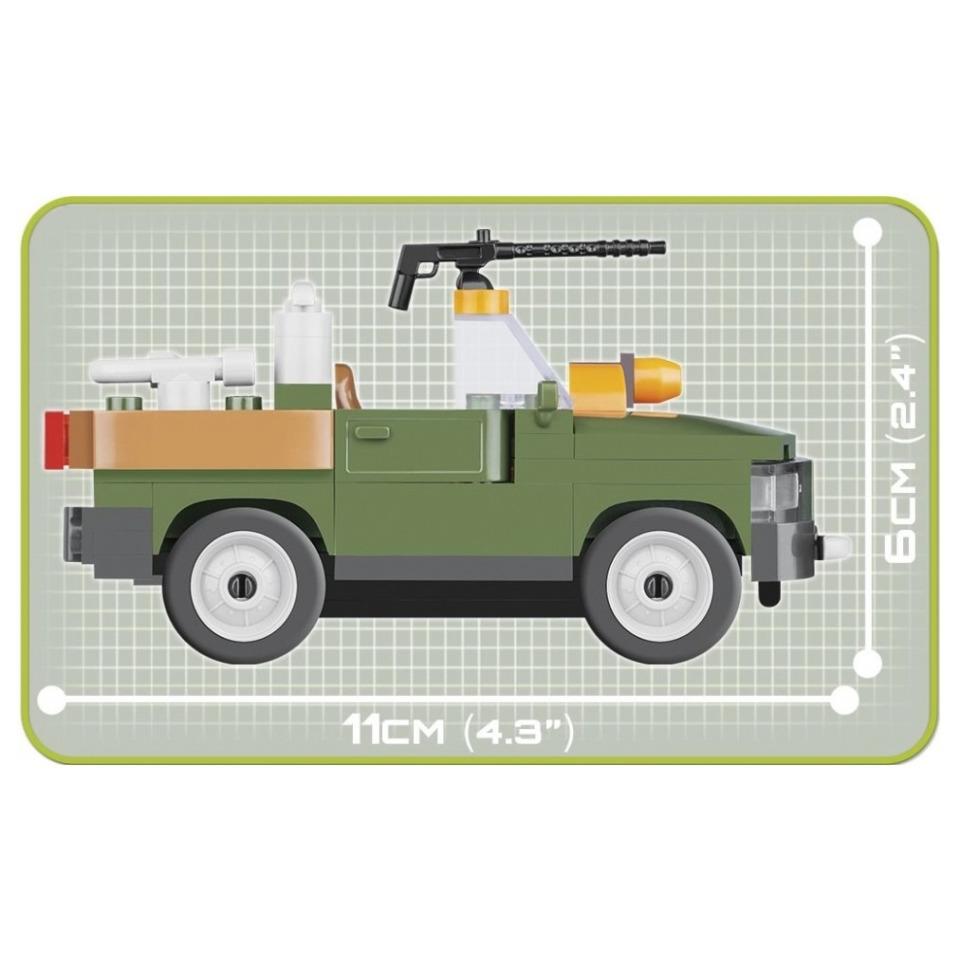Obrázek 2 produktu Cobi 2157 Taktické podpůrné vozidlo