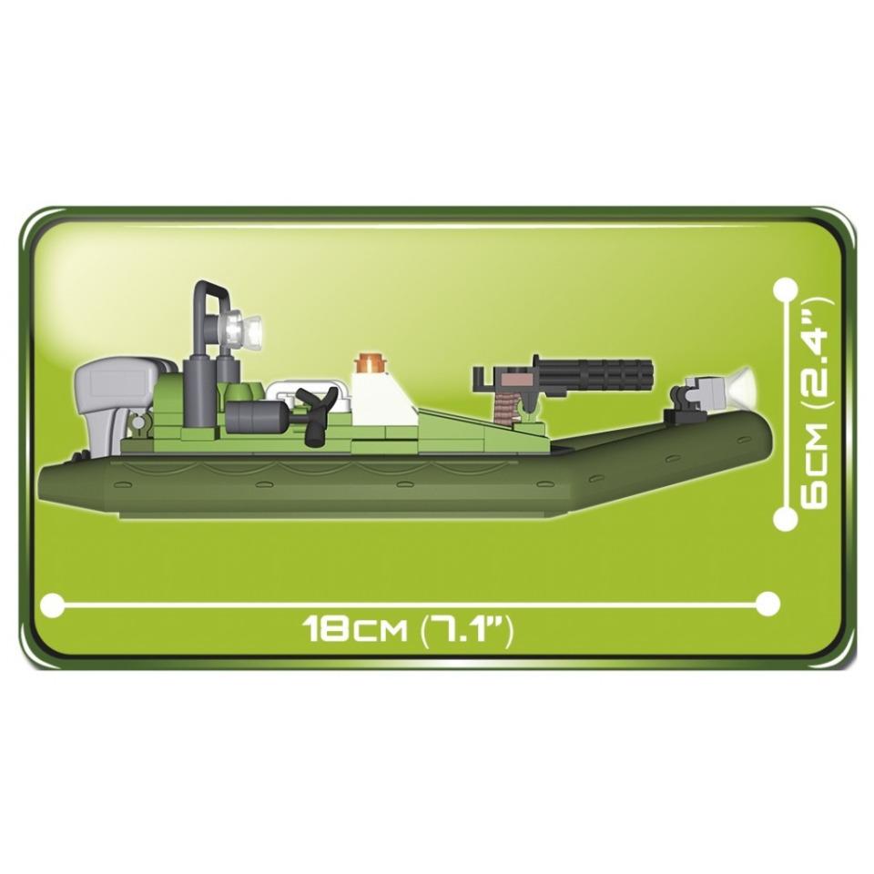 Obrázek 2 produktu Cobi 2163 Small Army Vodní patrola 140 k, 2 f