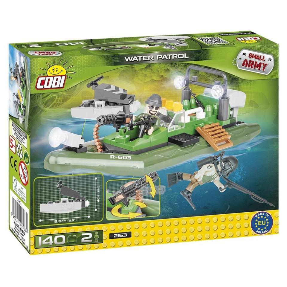 Obrázek 4 produktu Cobi 2163 Small Army Vodní patrola 140 k, 2 f