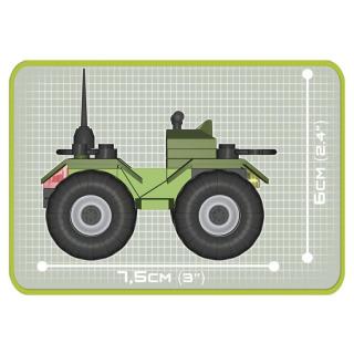 Obrázek 3 produktu Cobi 2164 Small Army Bojové školení 140 k, 2 f