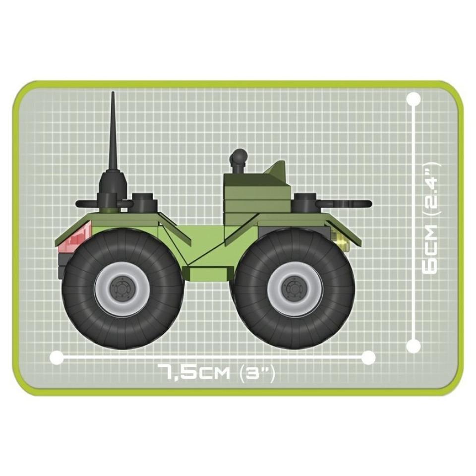 Obrázek 2 produktu Cobi 2164 Small Army Bojové školení 140 k, 2 f