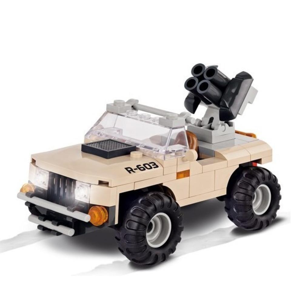 Obrázek 1 produktu Cobi 2199 Small Army Desert Artilery Vehicle 100 k 1 f