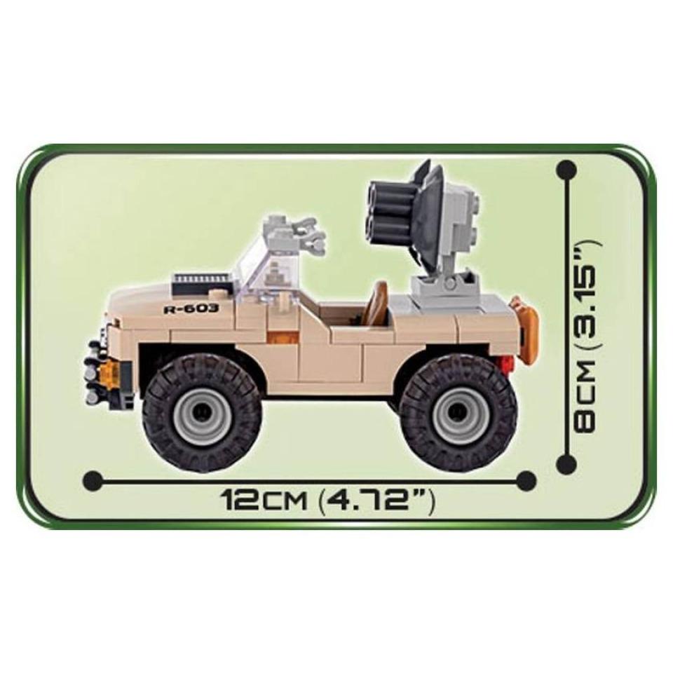 Obrázek 2 produktu Cobi 2199 Small Army Desert Artilery Vehicle 100 k 1 f