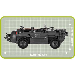 Obrázek 3 produktu COBI 2403 World War II Obojživelné auto VW Schwimmwagen