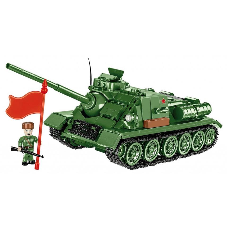 Obrázek 2 produktu Cobi 2541 World War II Ruský stíhač tanků SU-100
