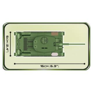 Obrázek 4 produktu COBI 2702 SMALL ARMY T-34/85, 1:48, 273 k