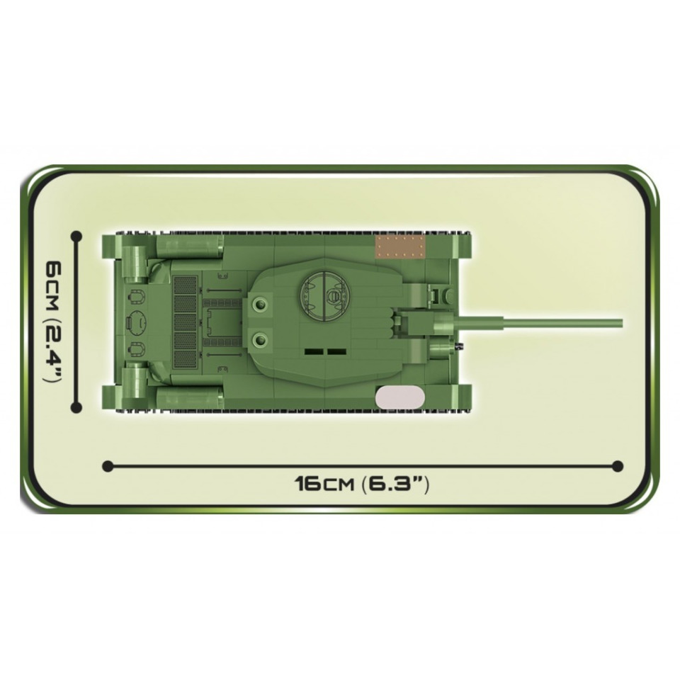 Obrázek 3 produktu COBI 2702 SMALL ARMY T-34/85, 1:48, 273 k