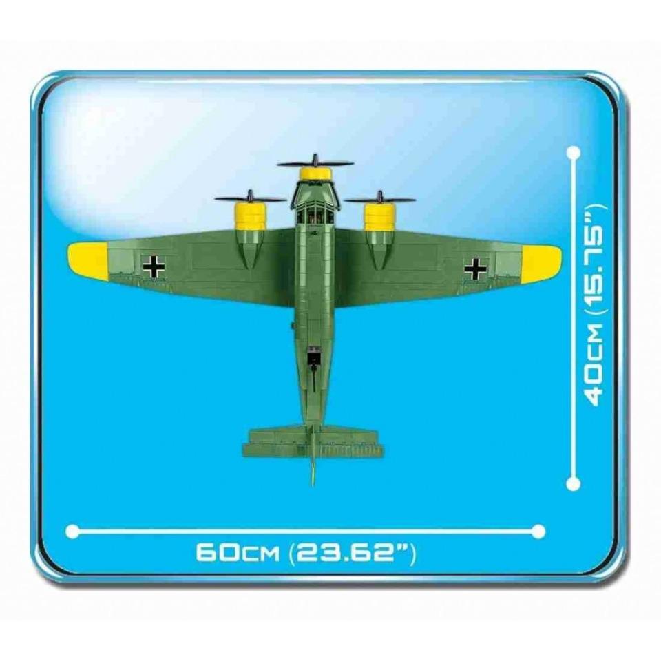 Obrázek 2 produktu Cobi 5710 World War II Německý dopravní letoun Junkers JU 52/3M