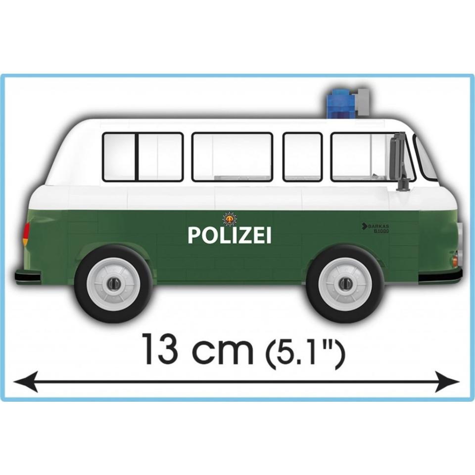 Obrázek 3 produktu Cobi 24596 Barkas B1000 Polizei, 1:35, 157 k