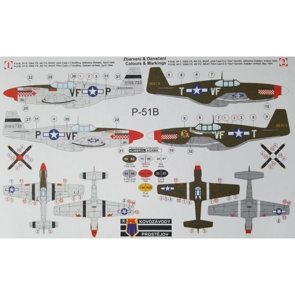 Obrázek 1 produktu P-51B 1:72