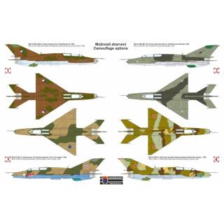 """Obrázek 2 produktu MiG-21 UM """"Mongol B"""" 1:72"""