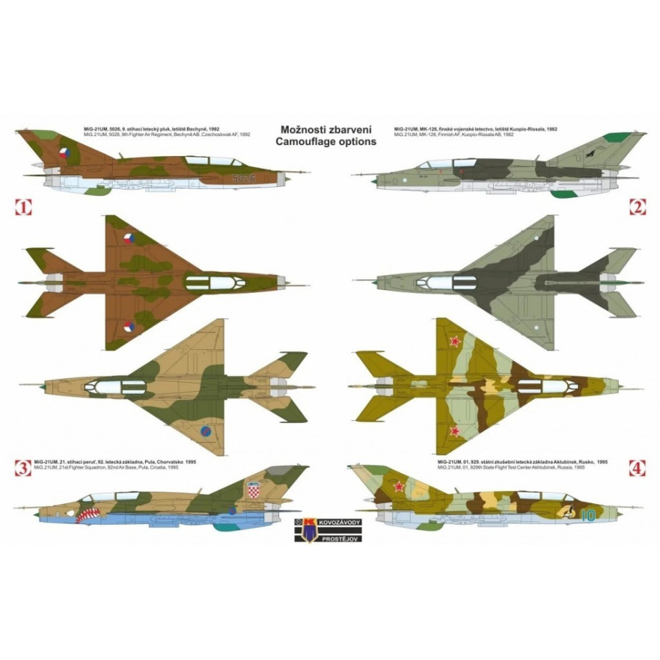 """Obrázek 1 produktu MiG-21 UM """"Mongol B"""" 1:72"""