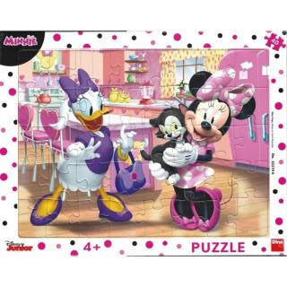 Obrázek 2 produktu Puzzle WD Minnie & Mazlíčci 40d. Dino