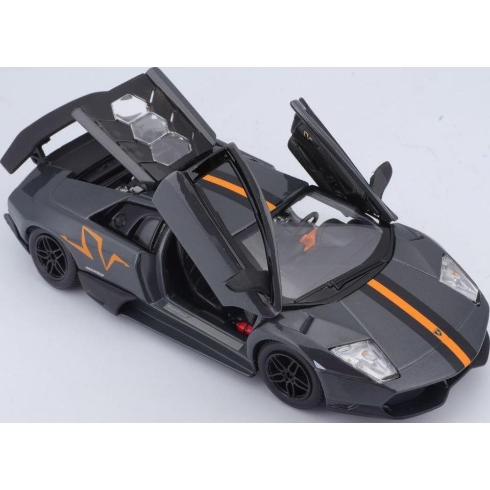 Obrázek 1 produktu Burago Lamborghini MURCIELAGO LP 670-4 SV Metallic Grey 1:24