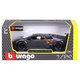 Obrázek 3 produktu Burago Lamborghini MURCIELAGO LP 670-4 SV Metallic Grey 1:24