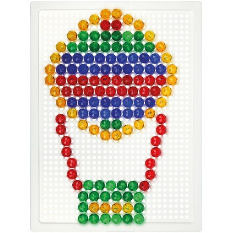 Obrázek 1 produktu LENA Mozaika malá, 140 dílků, 10mm