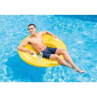 Obrázek 2 produktu Intex 58883 Křeslo plovací Lounge žluté