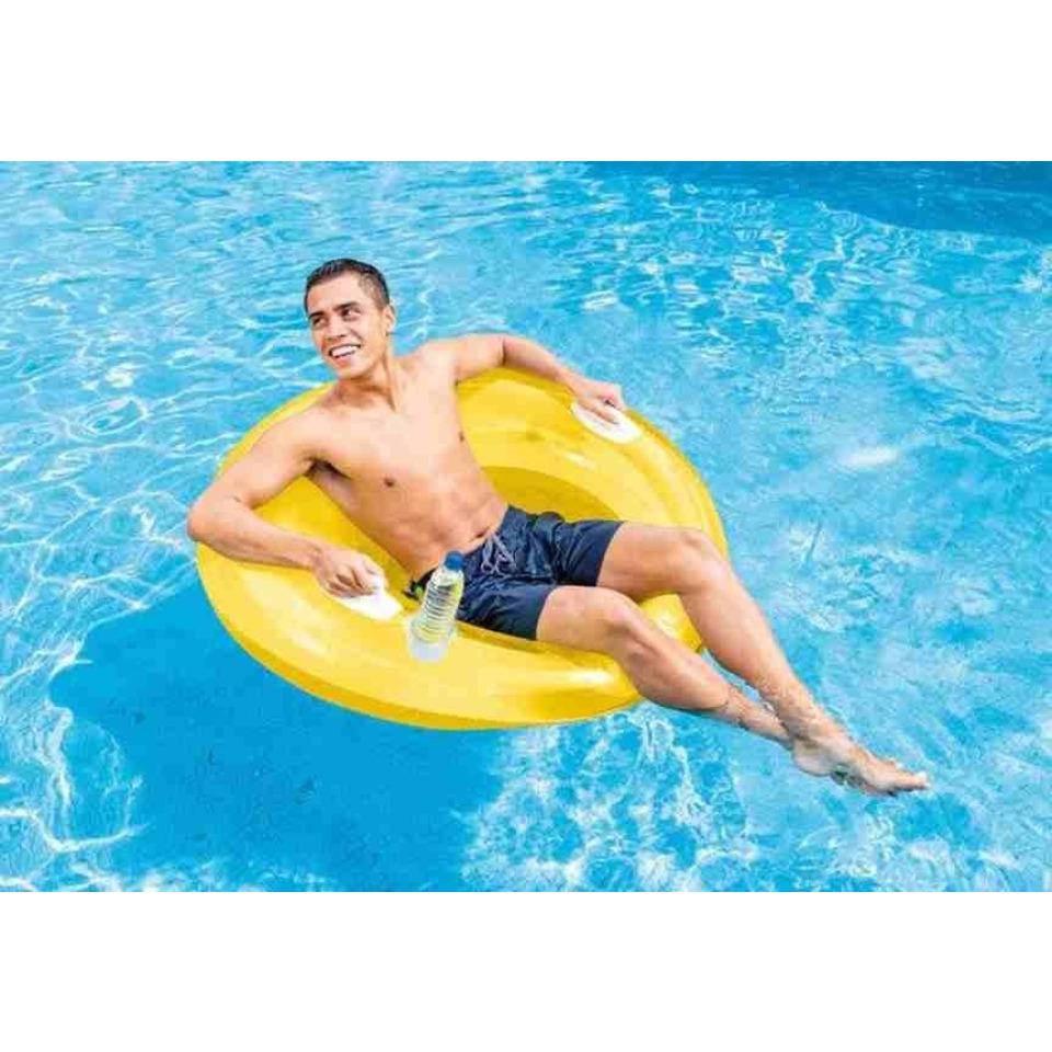 Obrázek 1 produktu Intex 58883 Křeslo plovací Lounge žluté