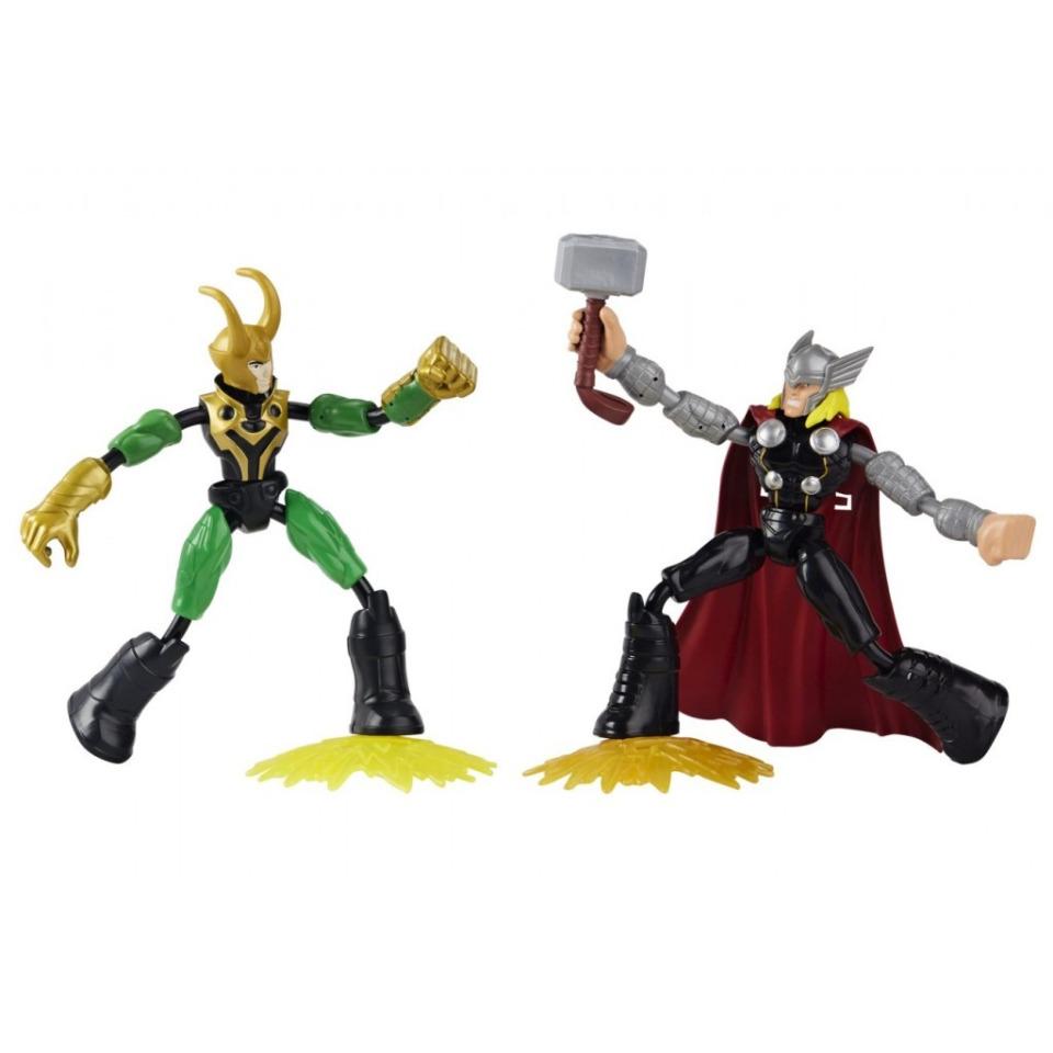 Obrázek 1 produktu Avengers figurka Bend and Flex THOR vs LOKI, Hasbro F0245