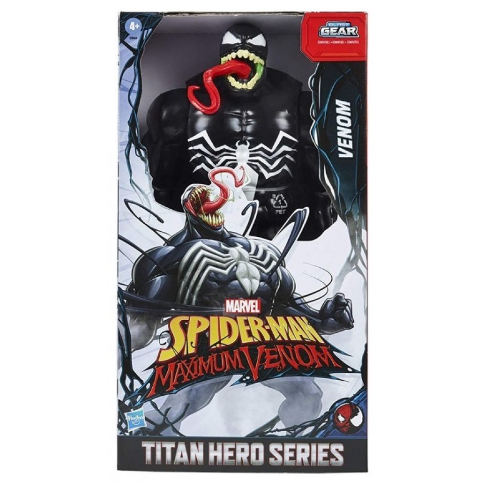 Obrázek 1 produktu Spiderman Titan Hero Maximum Venom 30 cm, Hasbro E8684