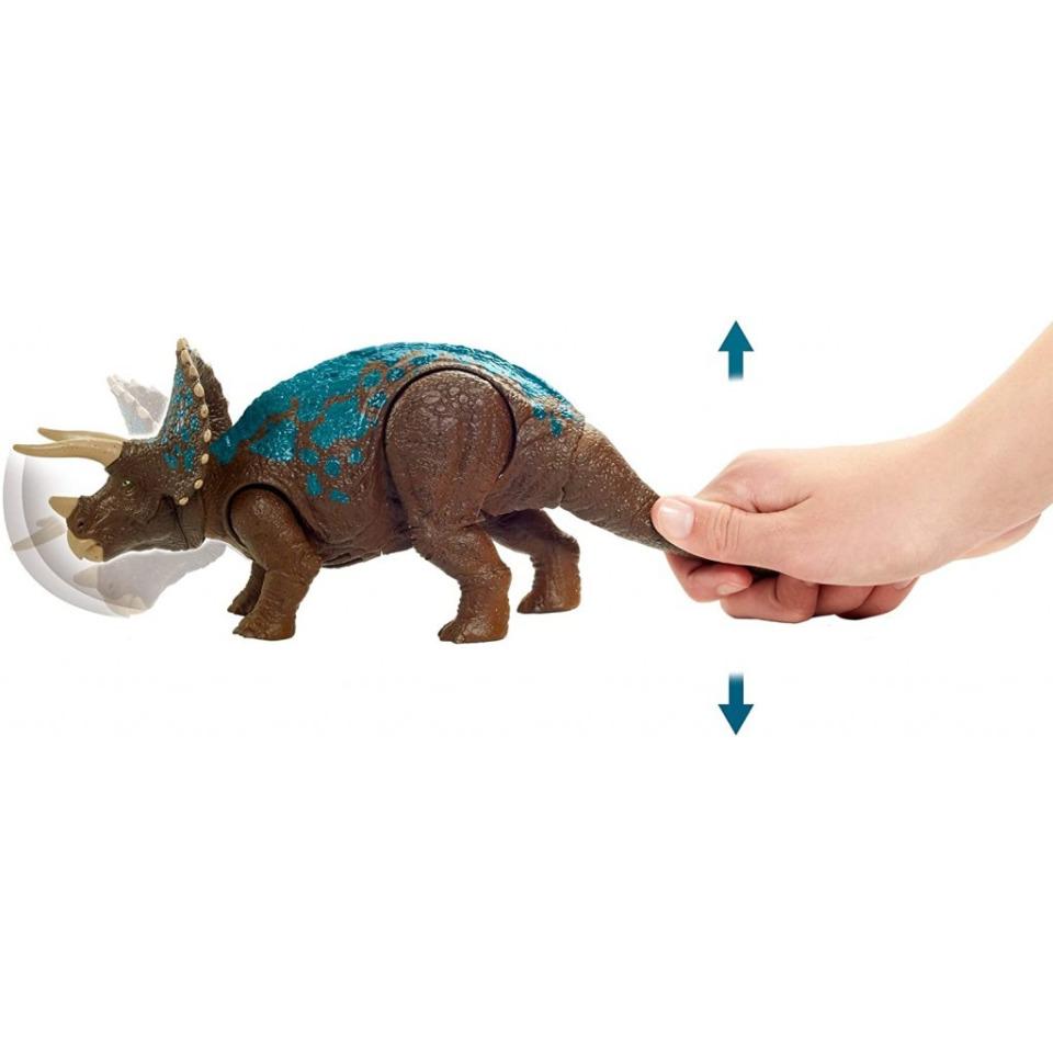 Obrázek 3 produktu Jurský svět Ohlušující řev TRICERATOPS, Mattel GVH66