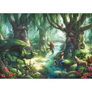 Obrázek 2 produktu Ravensburger 12955 Exit Kids Puzzle: V magickém lese 368 dílků