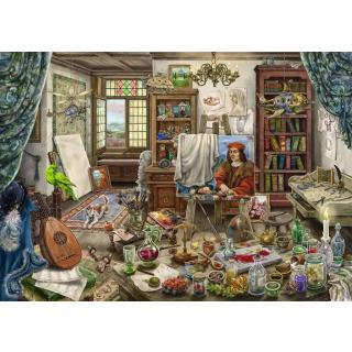 Obrázek 2 produktu Ravensburger 16782 Exit Puzzle: Umělecké studio 759 dílků