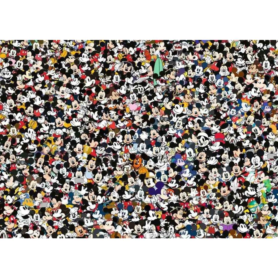 Obrázek 1 produktu Ravensburger 16744 Puzzle Mickey a přátelé Challenge 1000 dílků