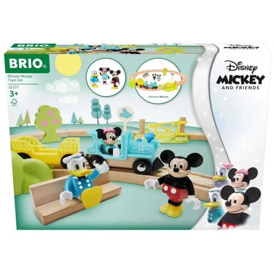 Obrázek 3 produktu BRIO 32277 Vlakový set Myšáka Mickeyho