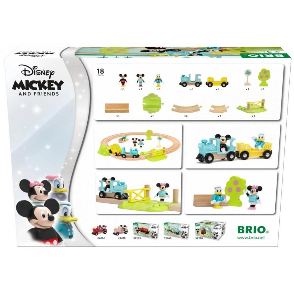 Obrázek 4 produktu BRIO 32277 Vlakový set Myšáka Mickeyho