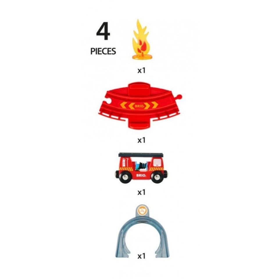 Obrázek 2 produktu BRIO 33976 SMART TECH SOUND Požární služba