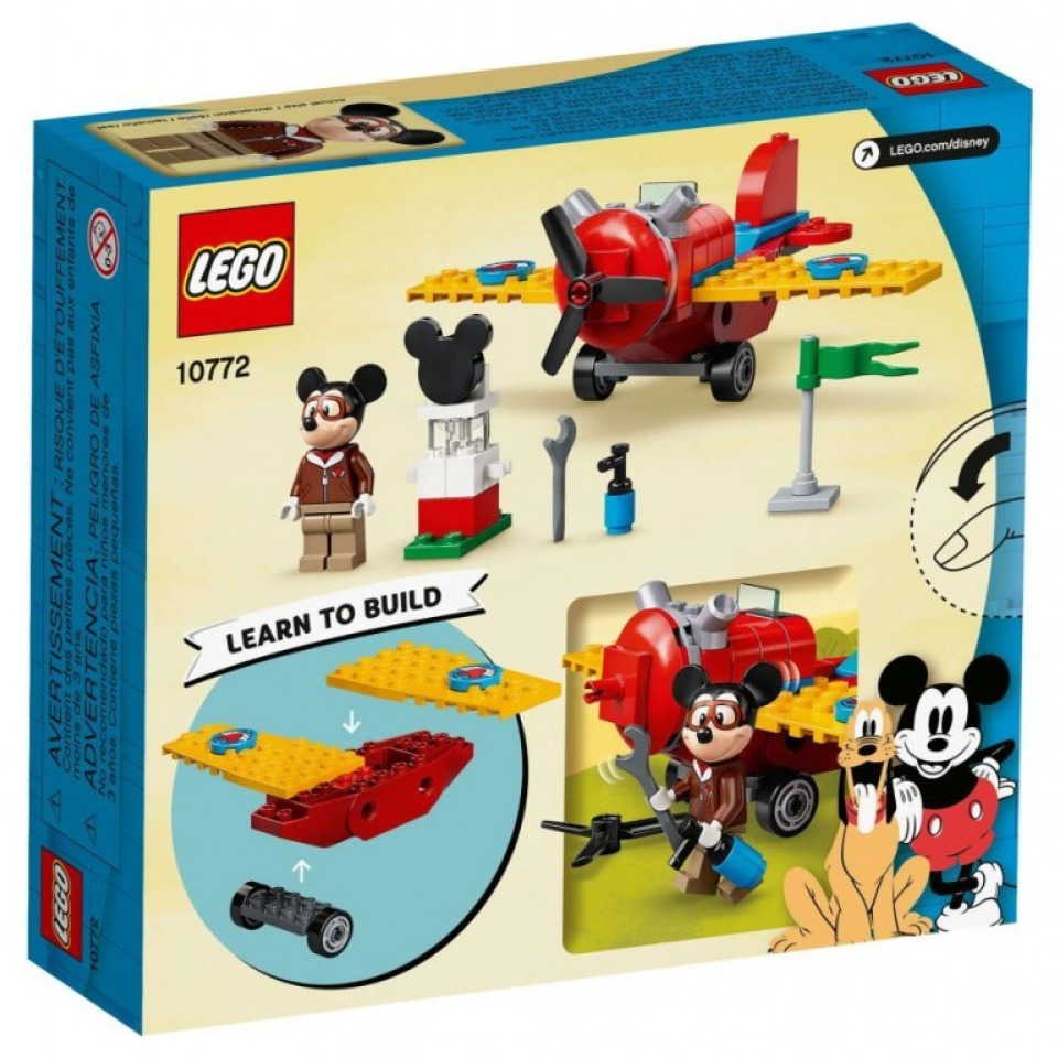 Obrázek 3 produktu LEGO Mickey 10772 Myšák Mickey a vrtulové letadlo