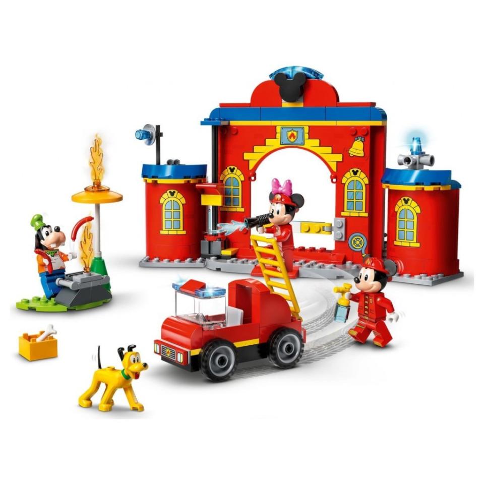 Obrázek 1 produktu LEGO Mickey 10776 Hasičská stanice a auto Mickeyho a přátel